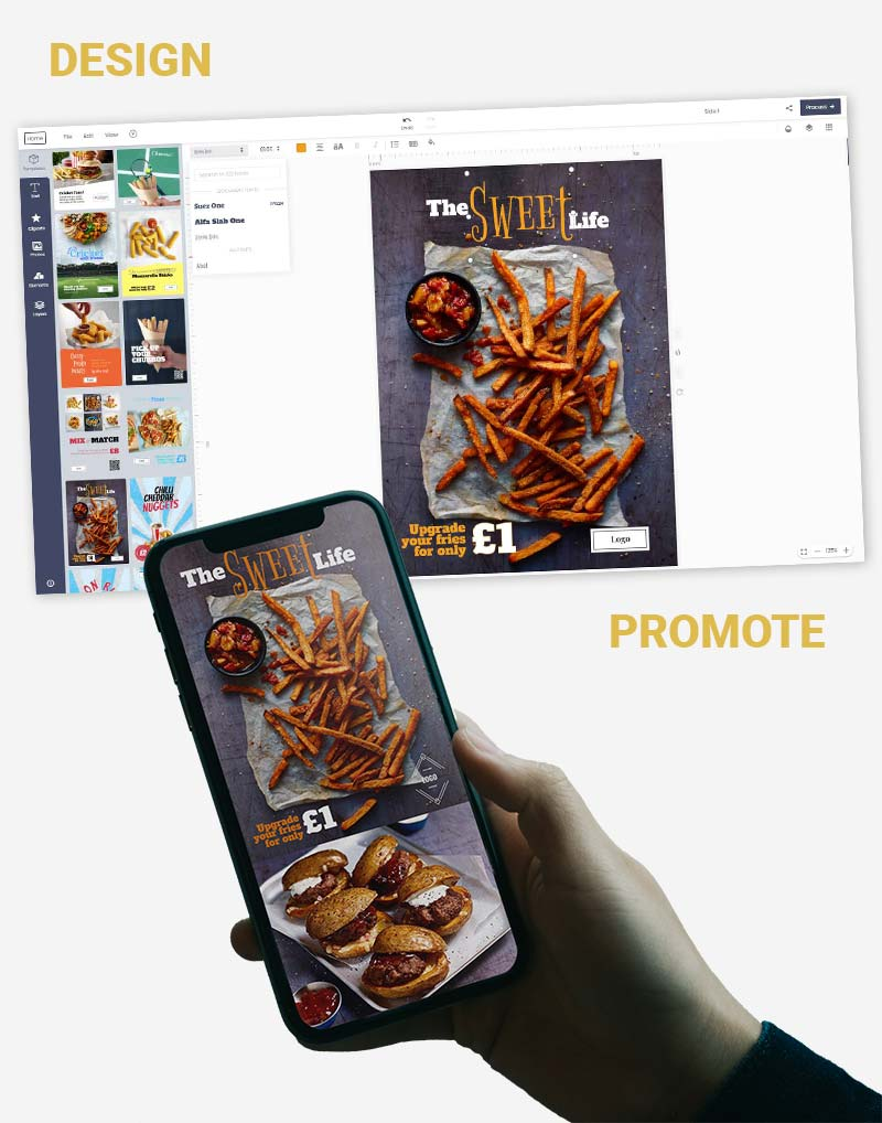 Marketing Support for Restaurants and Takeaways